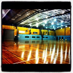 Photo taken at State Netball Centre by Toni L. on 1/10/2012