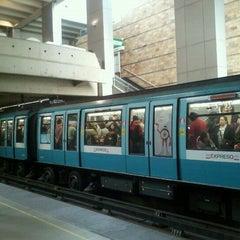 Photo taken at Metro Quinta Normal by Pablo O. on 11/21/2011