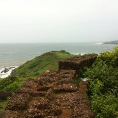 Photo taken at Chapora Fort by Shardul P. on 8/22/2012