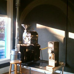 Photo taken at Bent Tree Coffee Roasters by Ryan B. on 12/1/2011