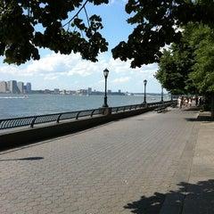 Photo taken at Hudson River Promenade by Scott P. on 7/31/2011