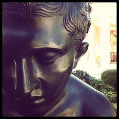 Photo taken at J. Paul Getty Villa by Christina K. on 10/16/2011