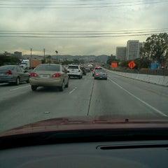 Photo taken at I-405 (San Diego Freeway) by Pavel Z. on 2/6/2012