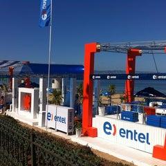 Photo taken at Entel Reñaca (Stand Verano) by entel on 1/23/2012