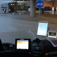 Photo taken at Swebus Stockholm - Arlanda by Martin J. on 6/15/2012