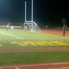 Photo taken at St. Norbert College Donald J. Schneider Stadium by Hannah D. on 9/29/2011