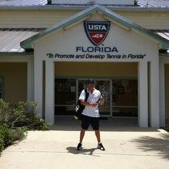 Photo taken at USTA Florida by Adam on 7/21/2012