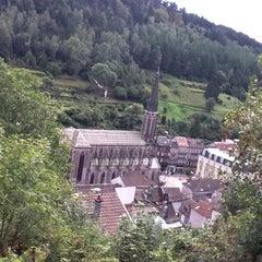 Photo taken at Principauté de Plombières les bains by Monsieur Steve. P. on 9/26/2011