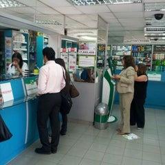 Photo taken at Farmacias Cruz Verde by Luis I. on 11/2/2011