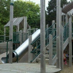 Photo taken at Wallingford Playfield by Chris E. on 6/28/2011