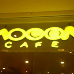 Photo taken at Mooon Cafe by Jovan S. on 8/19/2011