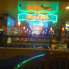 Photo taken at John's Incredible Pizza Company by Nesha H. on 9/4/2011