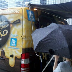 Photo taken at The Southern Mac & Cheese Truck by Adam W. on 8/23/2011