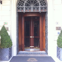 Photo taken at The St. Regis Florence by Simone H. on 8/5/2012