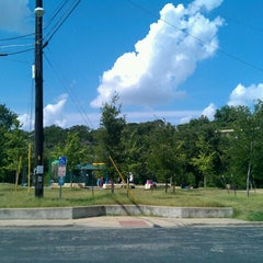 Photo taken at Pease District Park by Gabe G. on 6/17/2012