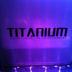 Photo taken at Titanium by Sharon D. on 1/17/2011