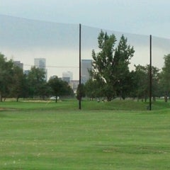 Photo taken at Overland Park Golf Course by Justin E. on 7/20/2012