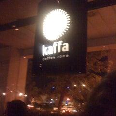 Photo taken at Kaffa Coffee Zone by João C. on 7/31/2012