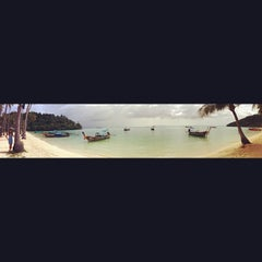 Photo taken at Phi Phi Island Village by Nelson L. on 7/20/2012