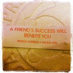 Photo taken at Panda Express by Johnny S. on 2/25/2012