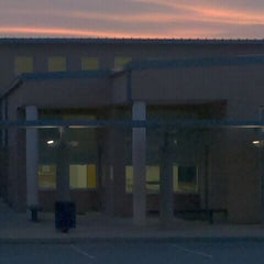 Photo taken at Crestdale Middle School by Kim G. on 3/22/2011