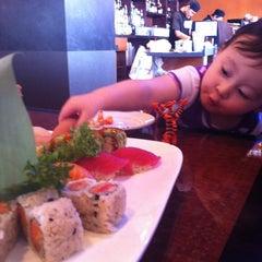 Photo taken at Katana Sushi by Amanda K. on 2/22/2012