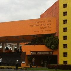 Photo taken at Centro de Convenciones William O. Jenkins by Ck D. on 2/25/2012