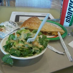 Photo taken at Sbarro by Jerry N. on 8/14/2011