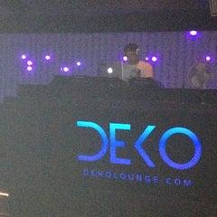 Photo taken at Deko Lounge by Nikki K. on 8/30/2012