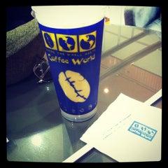 Photo taken at Coffee World (คอฟฟี่เวิล์ด) by Airi R. on 6/10/2012