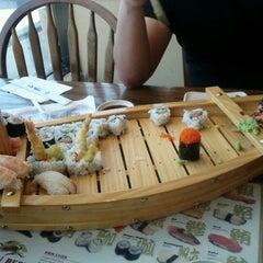 Photo taken at Samurai Sushi by Ed R. on 11/1/2011
