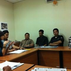 Photo taken at Harian Tribun Manado by Sylvester Iverson M. on 11/1/2011