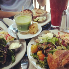 Photo taken at Urth Caffé by Linda K. on 9/9/2012