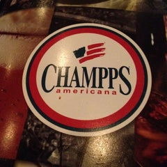 Photo taken at Champps Restaurant & Bar by David J. on 7/9/2012