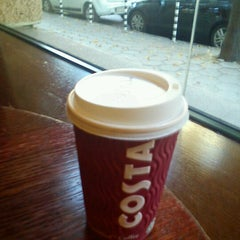 Photo taken at Costa Coffee by Vanya B. on 8/31/2012
