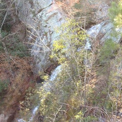 Photo taken at Peavine Falls Overlook by A.J. C. on 2/26/2012