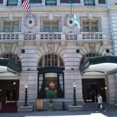 Photo taken at The Seelbach Hilton Louisville by Kim C. on 6/13/2012