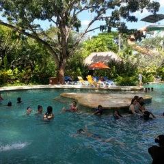 Photo taken at Waterbom Bali by Djodie K. on 7/1/2012