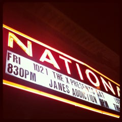 Photo taken at The National by Fletcher M. on 3/10/2012