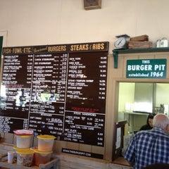 Photo taken at Burger Pit by Eric C. on 7/28/2012