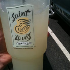 Photo taken at Saint Louis Bread Co. by Meagan C. on 6/23/2012