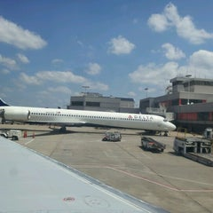 Photo taken at Concourse A by Lady M. on 6/16/2012