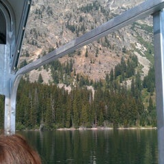 Photo taken at Jenny Lake Boating by Laura D. on 8/23/2012