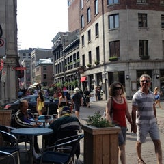 Photo taken at Experience Old Montreal by Timeyo B. on 8/25/2012