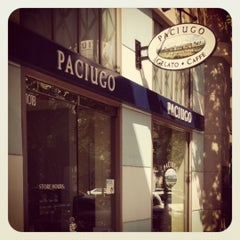 Photo taken at Paciugo Gelato & Caffé by Kristen L. on 5/9/2012
