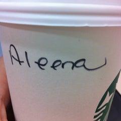 Photo taken at Starbucks by Alina A. on 4/23/2012