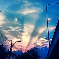 Photo taken at Ngam Wong Wan Road by siamblackberry s. on 5/10/2012