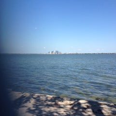 Photo taken at Ballast Point Park by Dan M. on 3/19/2012