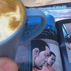 Photo taken at Sad cafe by Justin-Free M. on 9/10/2012
