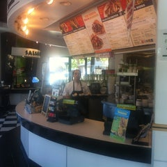 Photo taken at Baja Fresh Mexican Grill by John V. on 4/4/2012